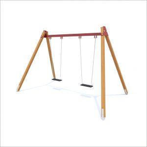 prosympatyk-place-zabaw-drewniane-hustawki-wahadlowe-2-osobowa-deseczki-1