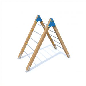 prosympatyk-place-zabaw-drewniane-zestawy-sprawnosciowe-drabinka-podwojna-1
