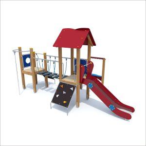 prosympatyk-place-zabaw-drewniane-zestawy-zabawowe-malpka-z-trapem-pochylym-i-rura-strazacka-1