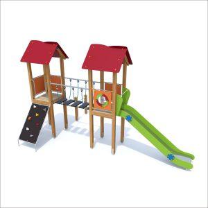 prosympatyk-place-zabaw-drewniane-zestawy-zabawowe-malpka-wejscie-po-trapie-1