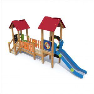 prosympatyk-place-zabaw-drewniane-zestawy-zabawowe-malpka-ze-schodkami-1