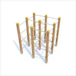 prosympatyk-place-zabaw-drewniane-zestawy-sprawnosciowe-labirynt-1